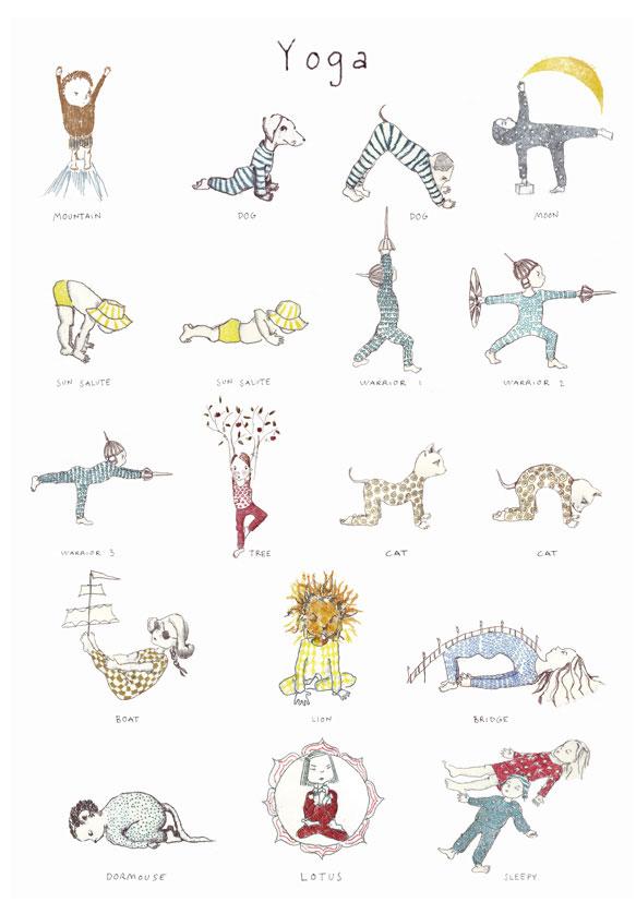 Kids Yoga poster