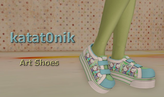 walk in style with katatonik's Art Shoes