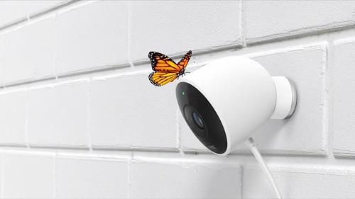 Умная камера уличного видеонаблюдения с Bluetooth от Nest