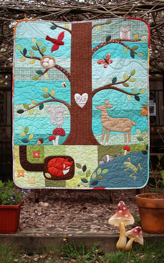 Forest Friends Quilt