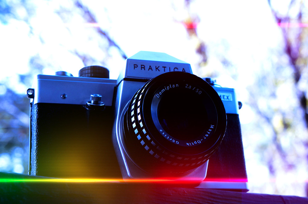 Mm praktica l m slr camera