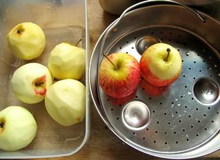 001 apples for making apple jam