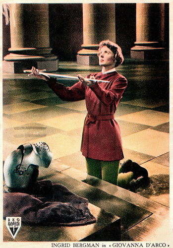 Ingrid Bergman in Joan of Arc (1948)