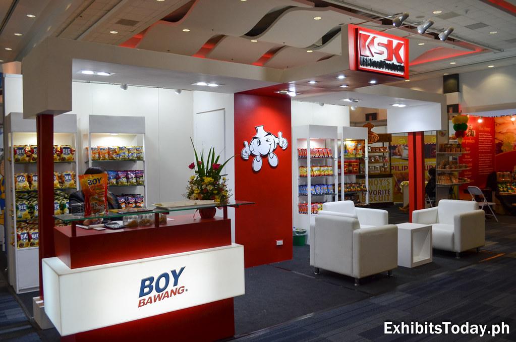 KSK / Boy Bawang Trade Show Booth