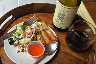 Navarro Vineyard Pinot Noir - Deep End Blend pairing thai