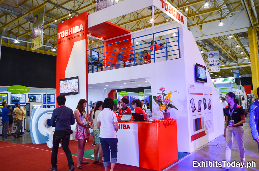 Toshiba Trade Show Display