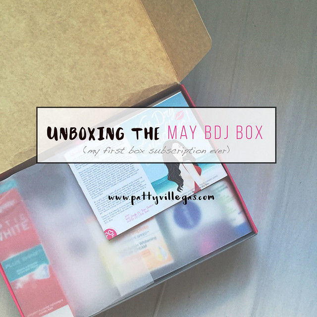 Patty Villegas-Unboxing the May BDJ Box-1