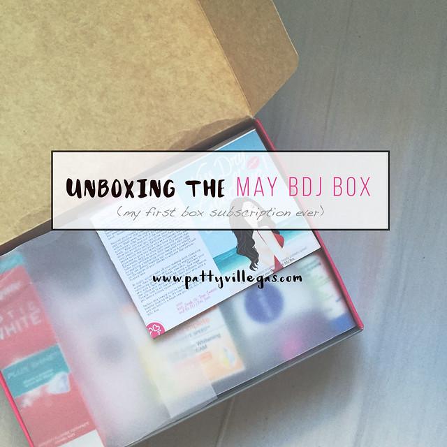 Patty Villegas-Unboxing the May BDJ Box-1