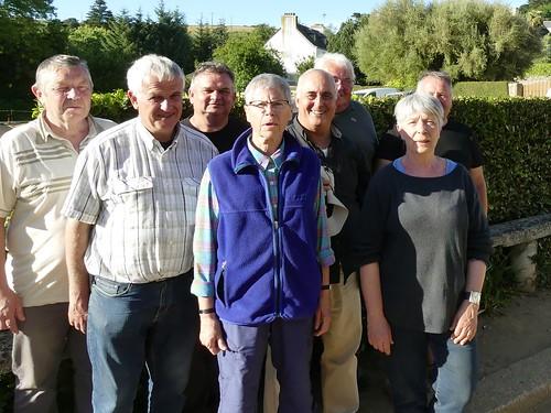 14/07/2016 - Saint Jean du Doigt : Les finalistes du concours Fédéral de boules plombées en quadrettes mêlées