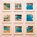 Poolside, Series of Nine Photographs