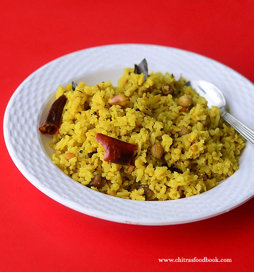Ready to eat poha mix