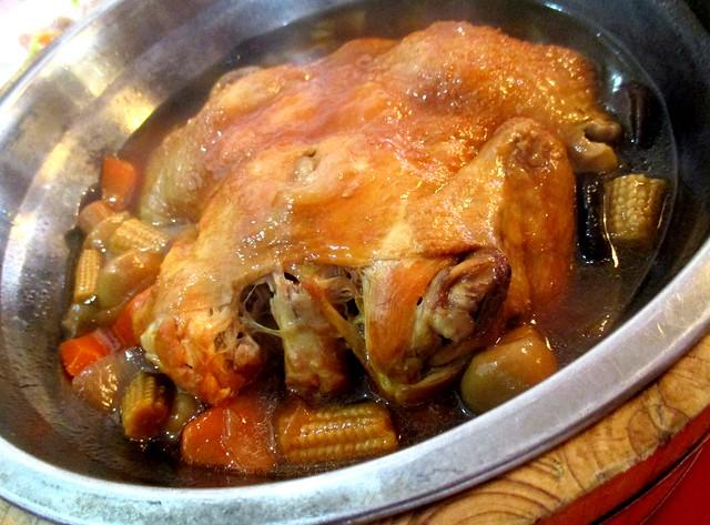 Golden Happiness stewed chicken