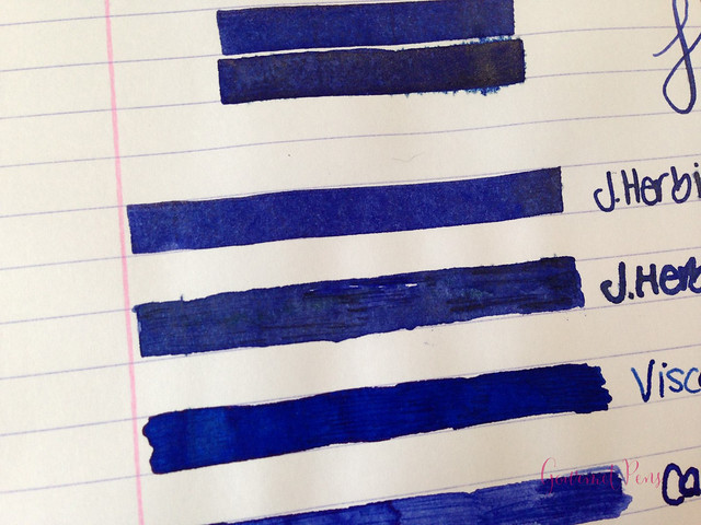 Ink Shot Review J. Herbin Bleu Ocean @BureauDirect (5)