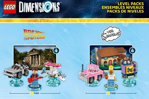 LEGO Dimensions packs