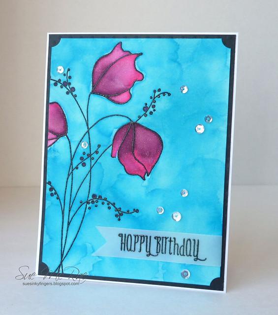 Watercolour Birthday