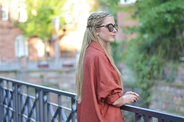 Eugli Fashionblogger OOTD LOTD Trenchcoat Waterfall Stilgut