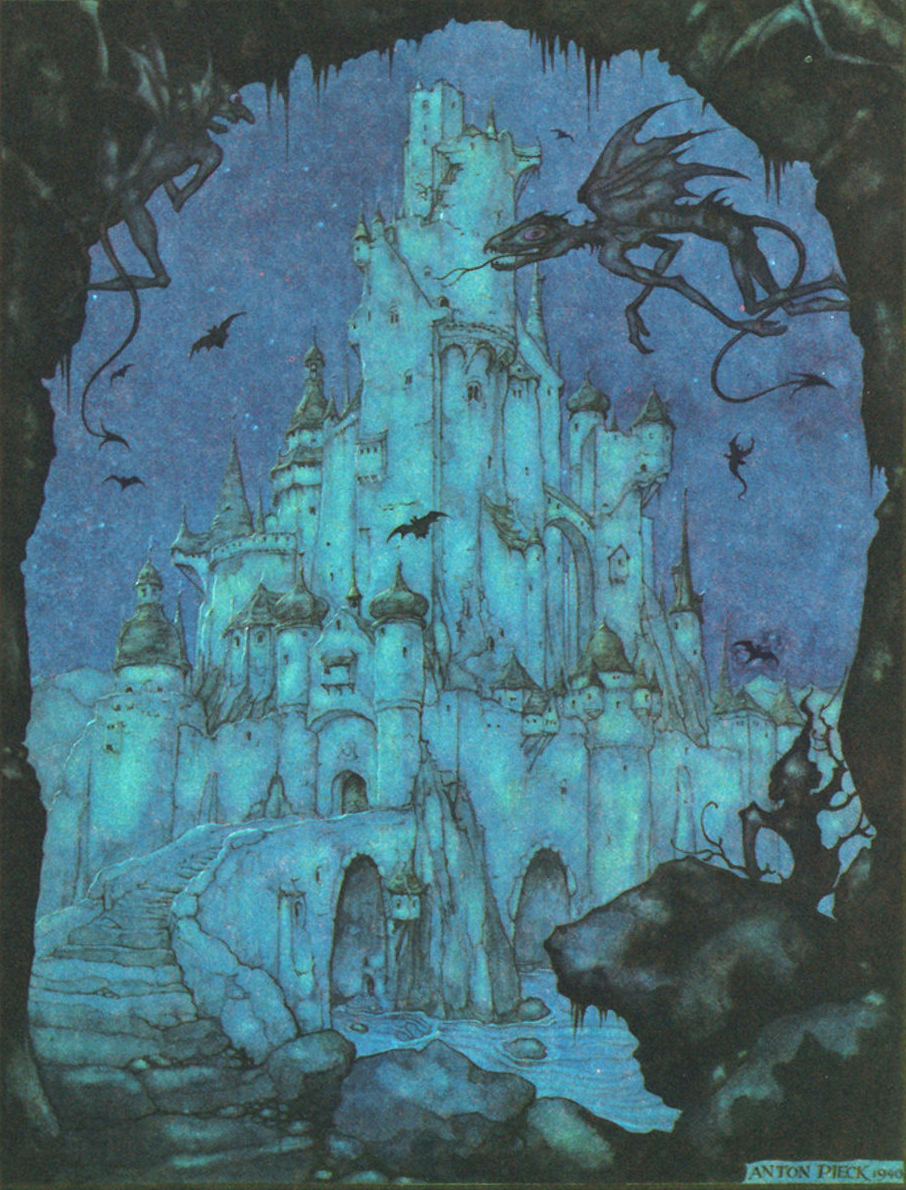 Anton Pieck - Illustration from Grimm's fairy tales,1942 edition (2)