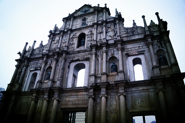 Macau: Ruins of St. Paul's (大三巴牌坊)