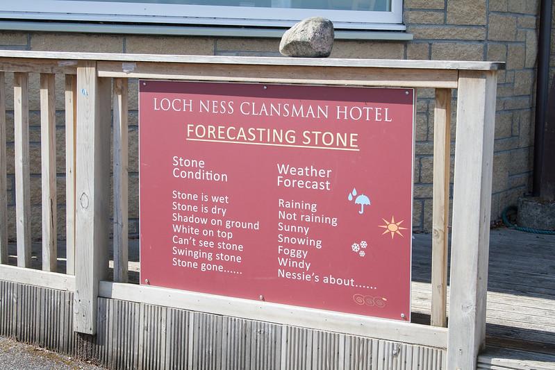 Loch Ness Forecasting Stone