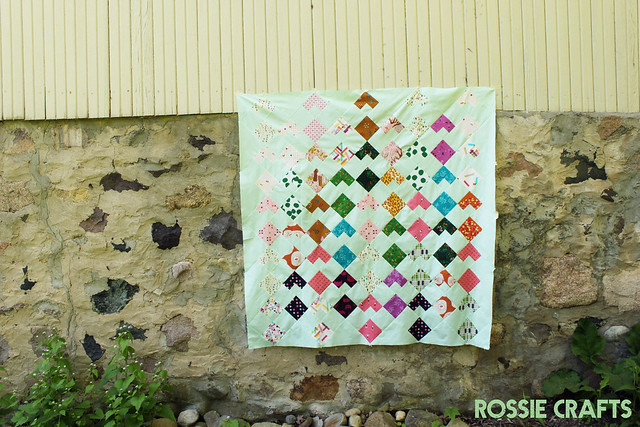 Optimism Quilt by Rossie