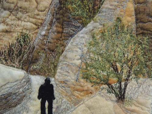 Tent Rock Canyon by Laura Gilmartin - Detail