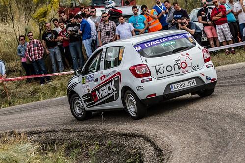 Beca Dacia Rallye Sierra Morena 2015