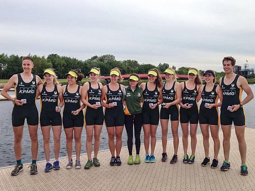 Saturday Winners in W IM2 8+ and M IM1 2-