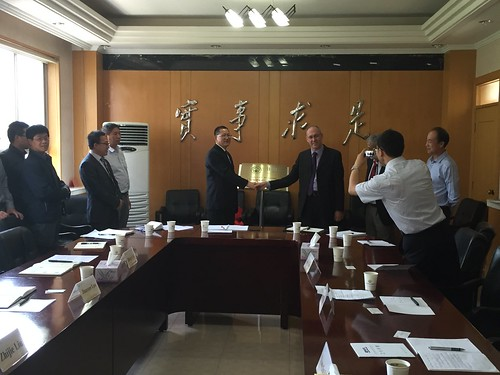 Launch of the joint lab in Lanzhou