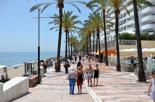 Beaches of Marbella, Spain