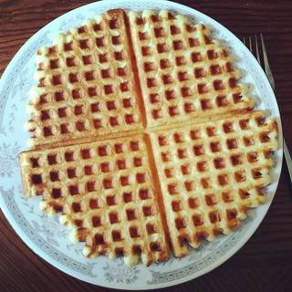 Dinner #Yum #waffles