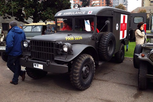 Dodge Military Ambulance - Santiago, Chile