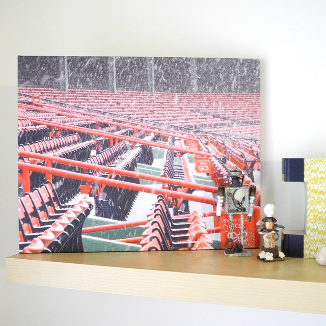 Canvas Pop Canvas Review by Jennifer Ingle #justjingle #canvaspop #homedecor #photography #fenwaypark #baseball #redsox
