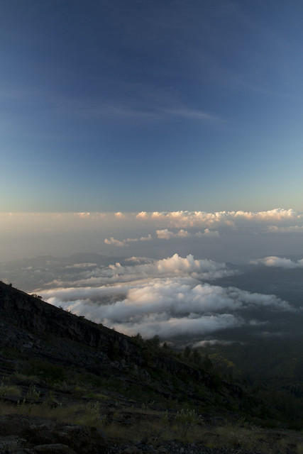 mt agung sunrise