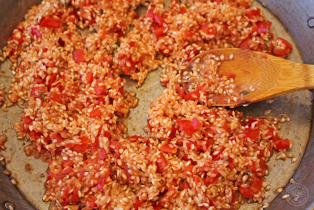 Paella de gambas www.cocinandoentreolivos.com (17)