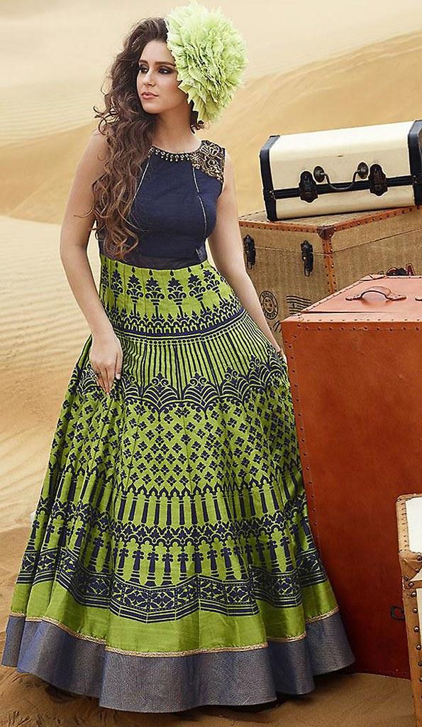 Indian Party Wear Churidar Suits Online Shopping | Heenast… | Flickr