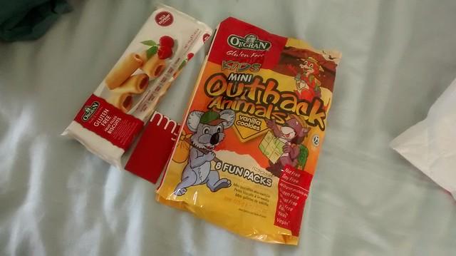 Orgran gluten free biscuits