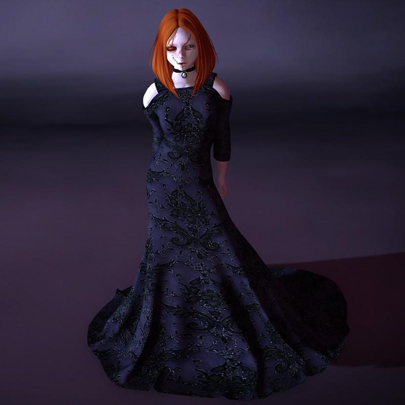 Gothic Violet Full