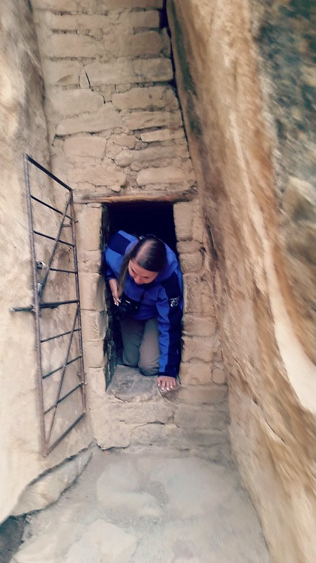 Balcony House, Mesa Verde, narrow corridor
