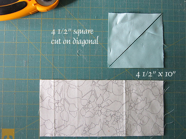 Lattice quilt tutorial