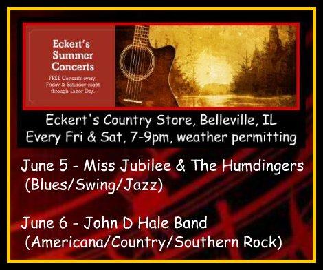 Eckert's Summer Concerts 6-5, 6-6-15