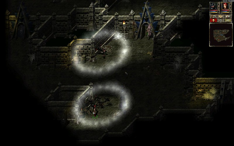 Act 3 Catacombs level 2, part 2 - kill shadow creatures