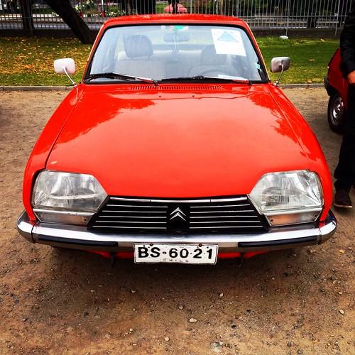 Citroën GS - Patrimonio sobre ruedas - Día del Patrimonio, Santiago 2015