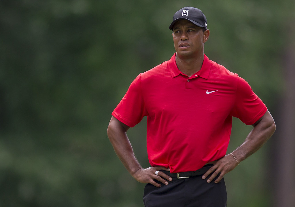 Tiger Woods亟欲參加名人賽。(資料照,達志影像)