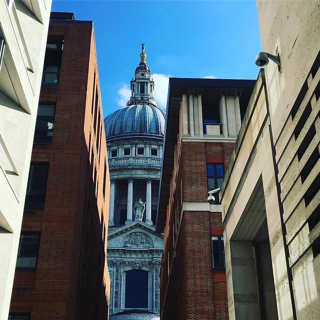 Sunny St Pauls Sunday #london #stpauls #londonliving #lbloggers