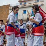 Santa Tecla 2014 - Exhibició dels balls populars infantils