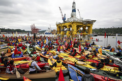 Kayaktivists confront artic destruction