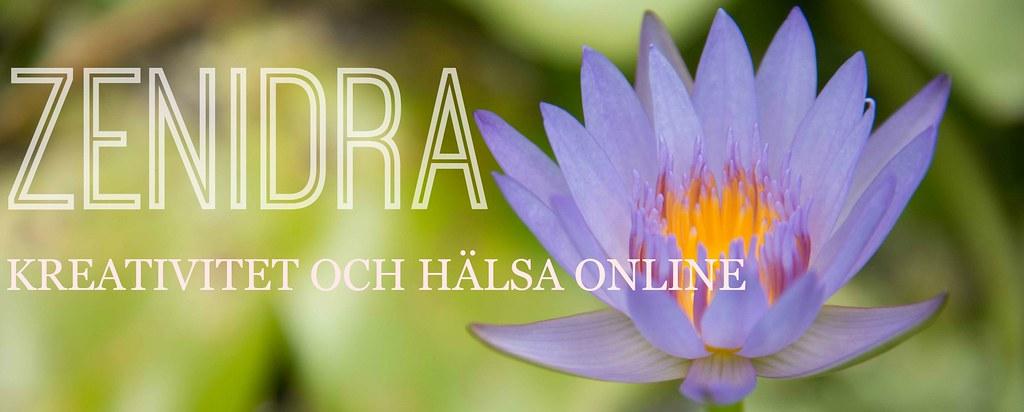 ZENIDRA LOTUS kreativitet och hälsa online