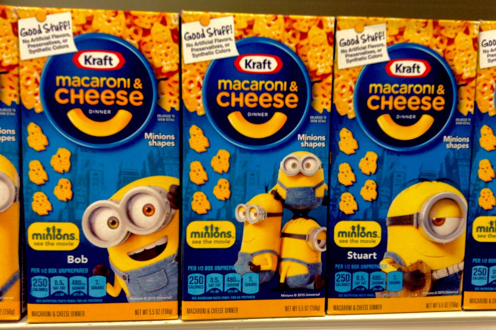 Mac And Cheese >> Kraft Macaroni and Cheese Despicable Me Minions | Despicable… | Flickr