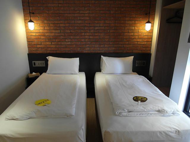 經典雙床房,平日NTD$2,800、假日NTD$3,600@雀客旅館CHECK INN