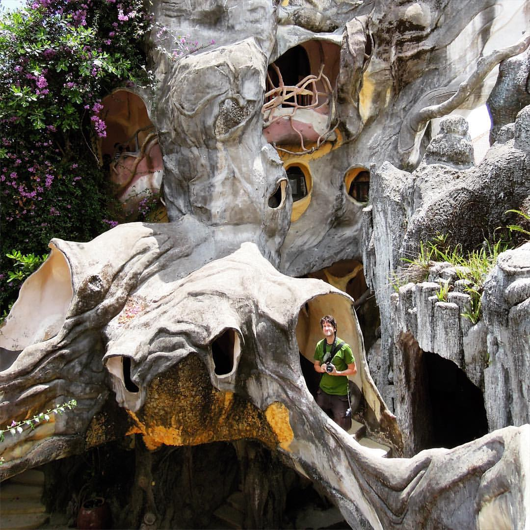 #RTW2012 #30 Dalat was a bit crazy. And so was the Crazy House in Dalat! Have you been? How did you like it? We thought it was a bit gaudi'ish, so of course we loved it! #rtw #rtw365 #aroundtheworld #aroundtheworldtrip #maailmanympäri #maailmanympärimatk